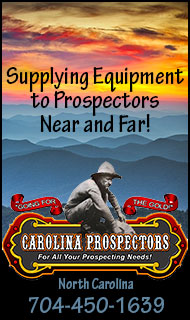 Carolina Prospectors - Your Prospecting Equipment Source!